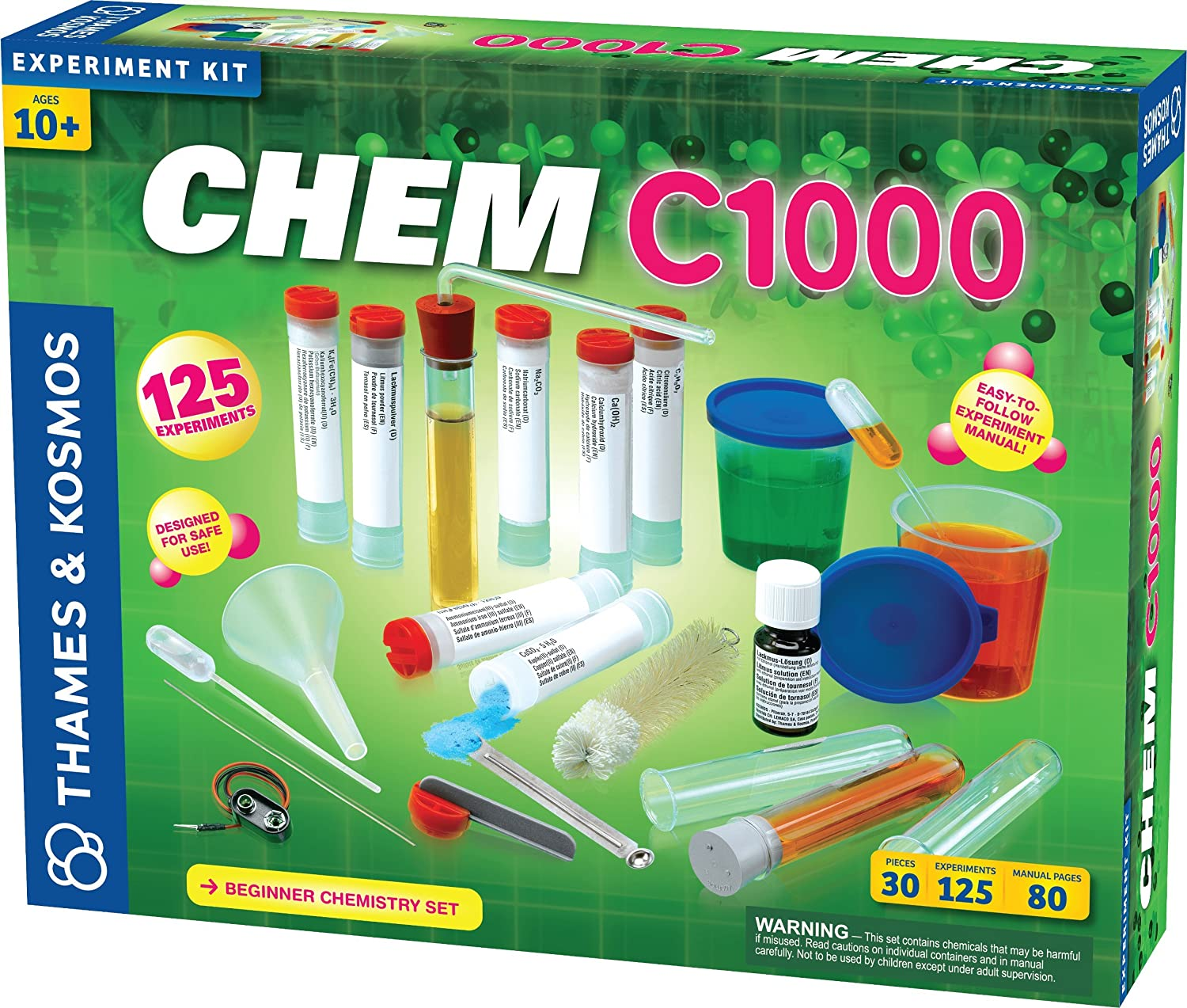 CHEM C100 Experiment kit boxset by Thames and Kosmos
