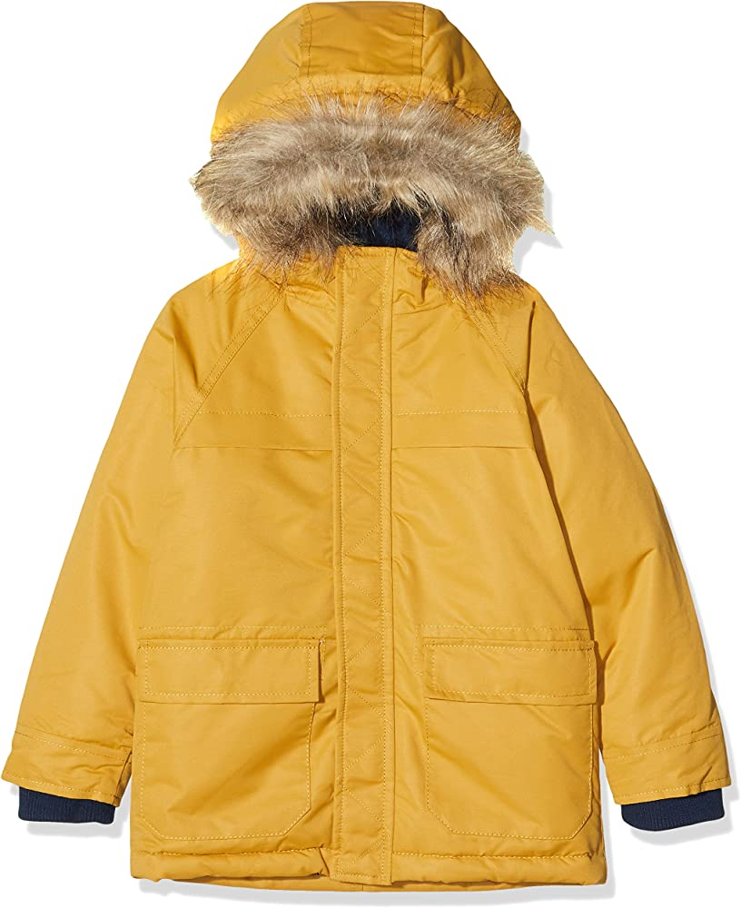 ZIPPY Boys Parka Acolchada Capucha Coat