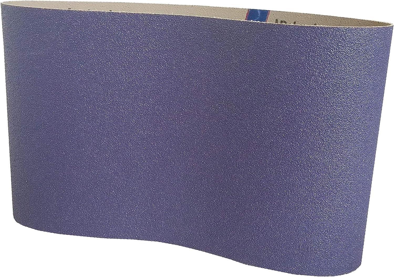 "10"" x 29-1/2"" Floor Sanding Belts Ceramic Cloth Belts (5 Pack, 80 Grit)"