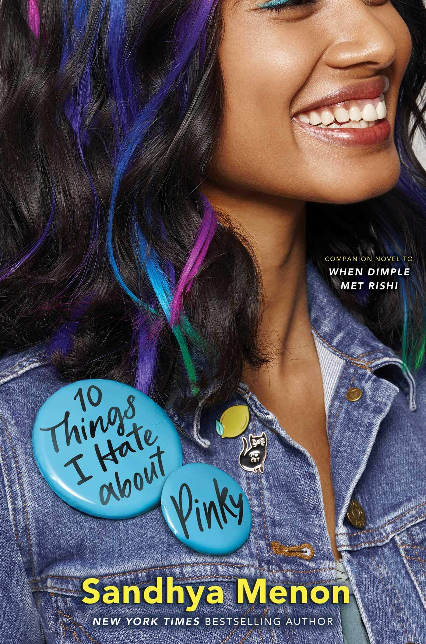 Amazon.com: 10 Things I Hate about Pinky (9781534416819): Sandhya ...