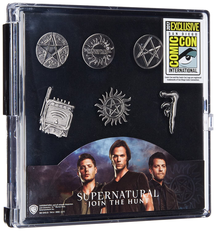 WB Supernatural Logo Metal Pin