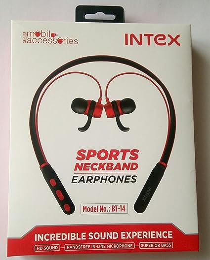 b2377f55760 INTEX Earphone BT 14: Amazon.in: Electronics