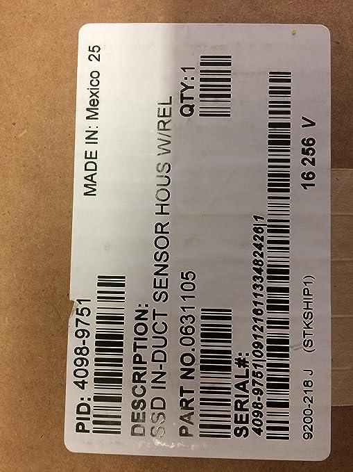 Simplex 4098 – 9751- conducto Sensor vivienda w/relé