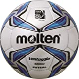 Molten Futsal – Pallone, bianco/blu/argento, 4, F9V4000-L