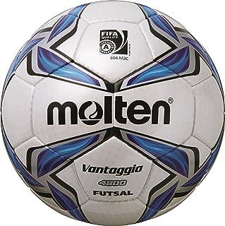 Molten Ballon de Football pour Foot en Salle Blanc/Bleu/Argent - 4/f9V4800