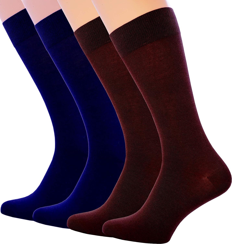 1 Pair of Men Women Thin Soft 100/% Cotton Black White Blue Grey Dress Socks New