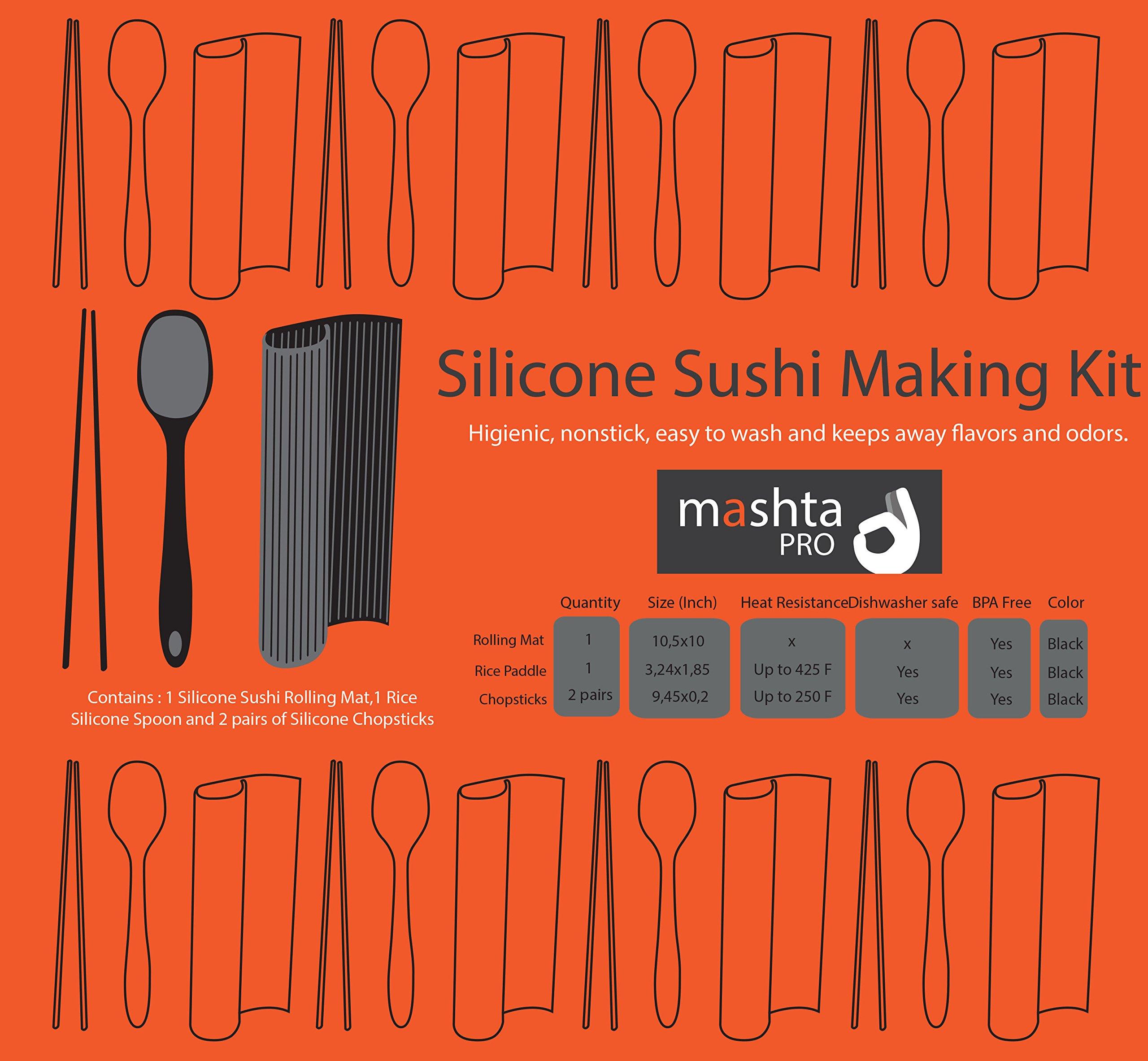 Sushi Making Kit -Gourmet- Perfect Roll Sushi Maker Kit! by Mashta