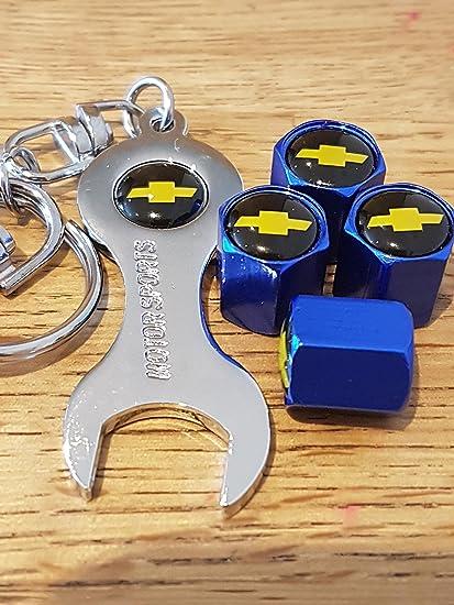 Chevrolet amarillo/negro parte superior azul válvula de la ...