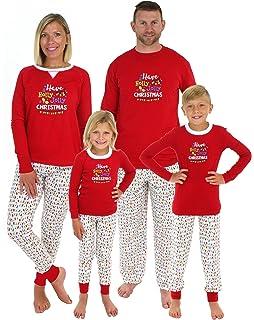 c8e419703e Sleepyheads Christmas Family Matching Holly Jolly Lights Pajama PJ Sets