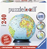 Ravensburger Puzzle Ball Globe + Booklet; 240 pieces