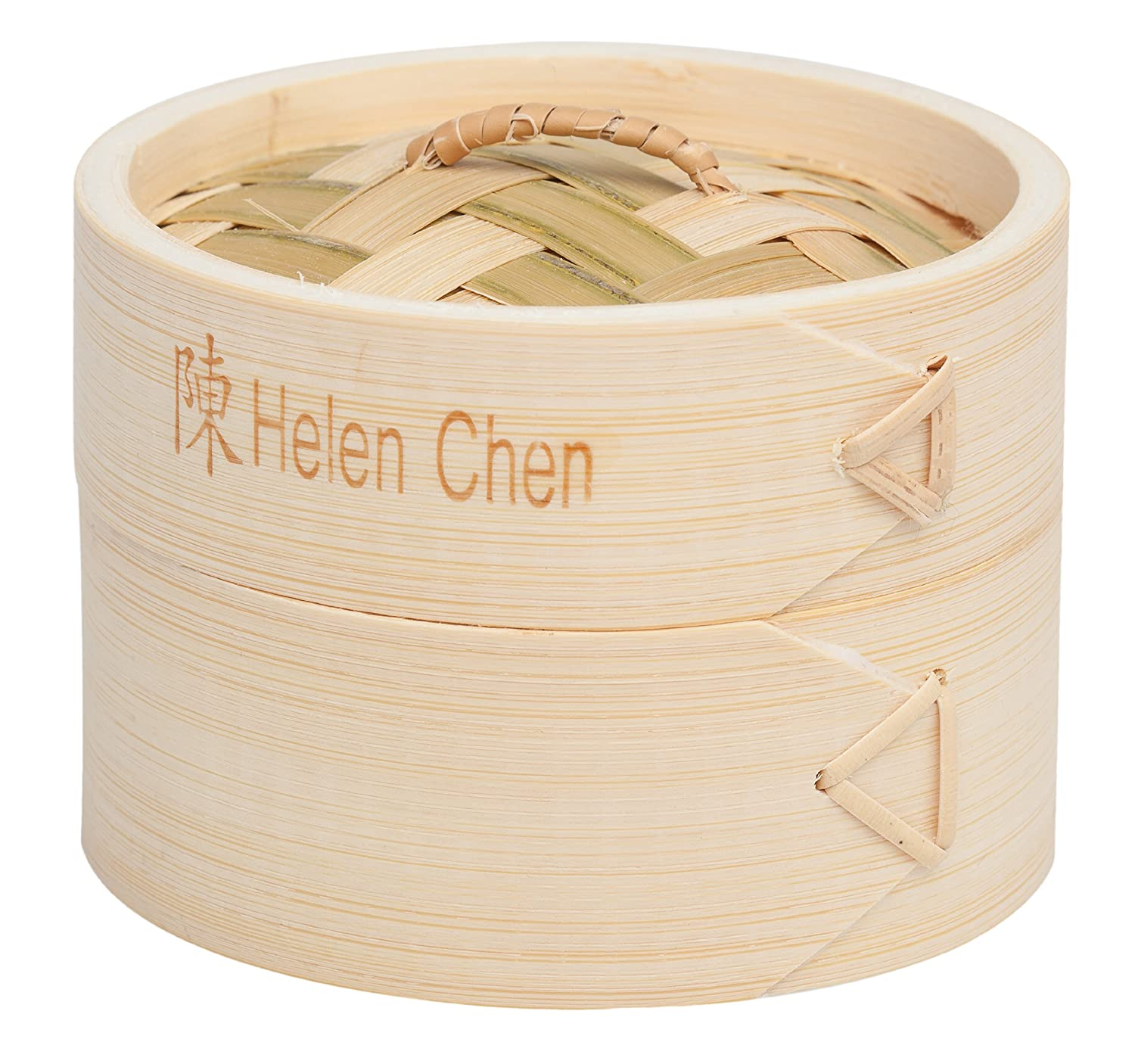 Amazon Helen Chen s Asian Kitchen 4 Inch Bamboo Steamers Set