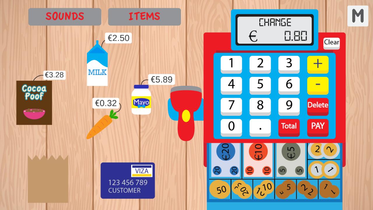 Free online cashier games gamble america