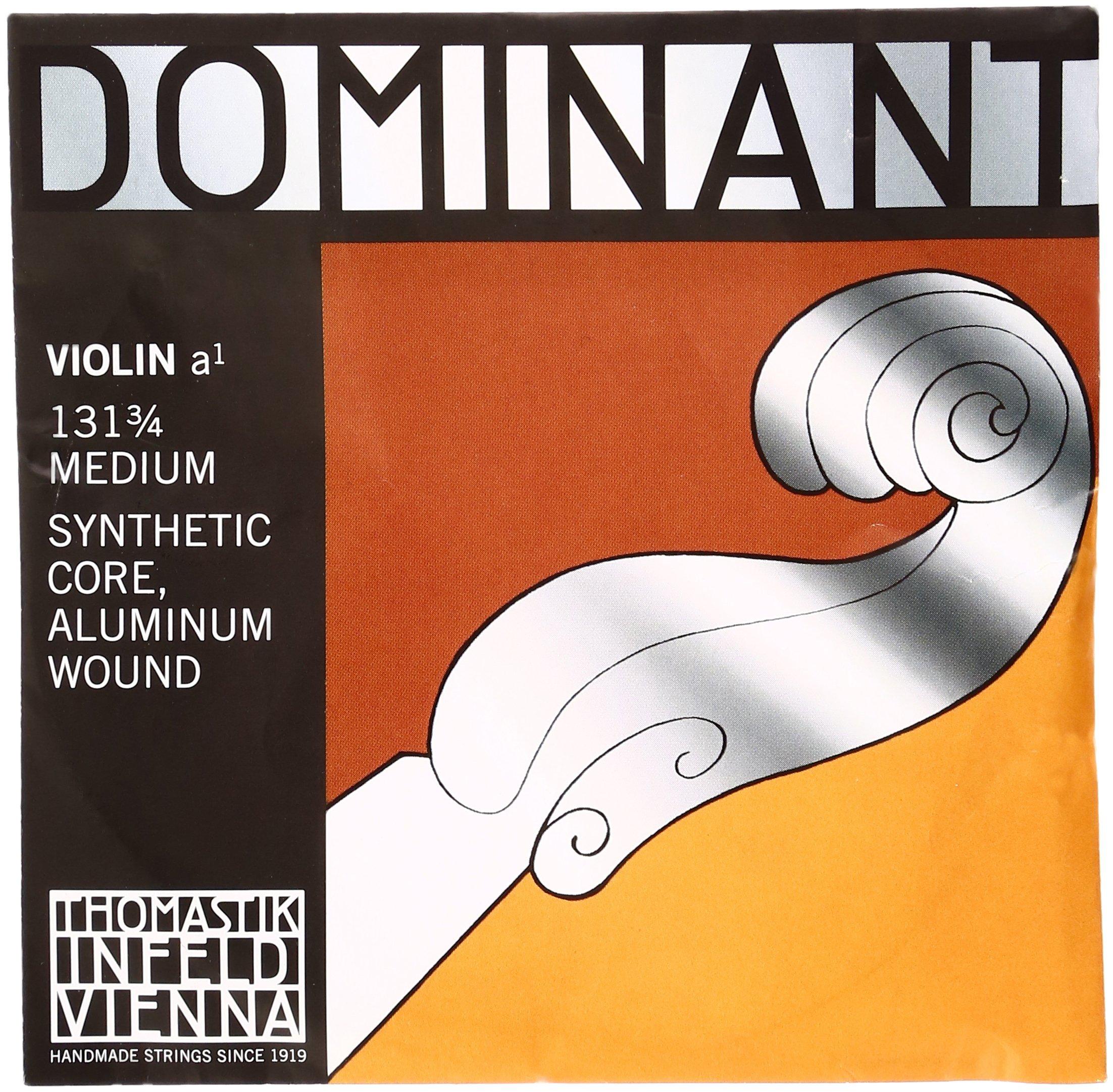 Dr Thomastik-Infeld 131.34 Dominant Violin String, Single A String, 131, 3/4 Size, Aluminum Wound