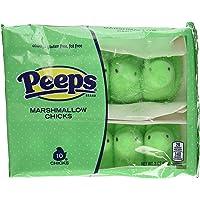 Marshmallow Peeps Green Chicks (10ct)