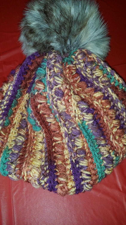 Amazon.com  Malia Crochet Hat  Handmade d6fd1436a07