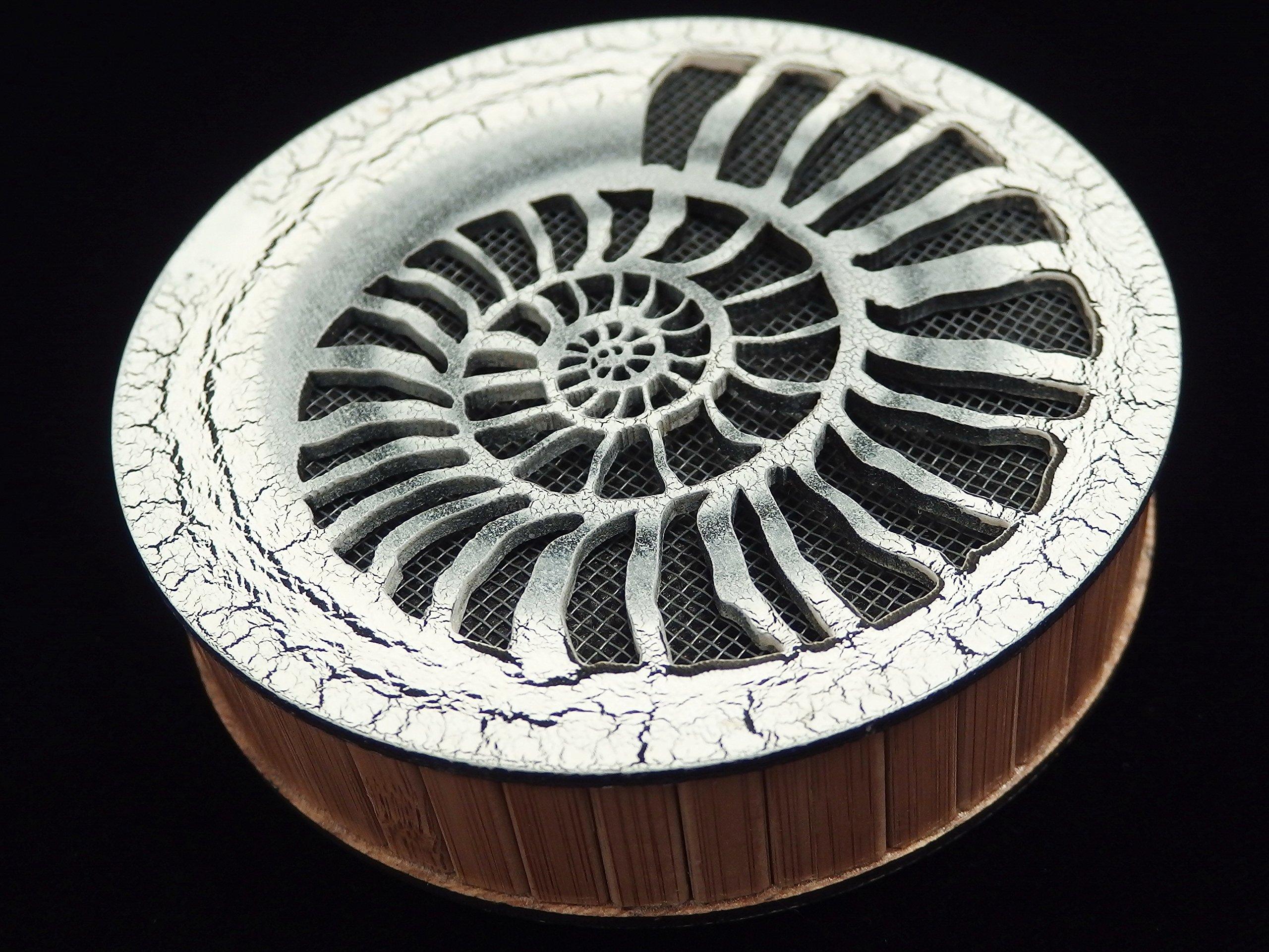 Sound of the stream 185 mm / Strumok (Ammonite) Great sound New Percussion Rainstick