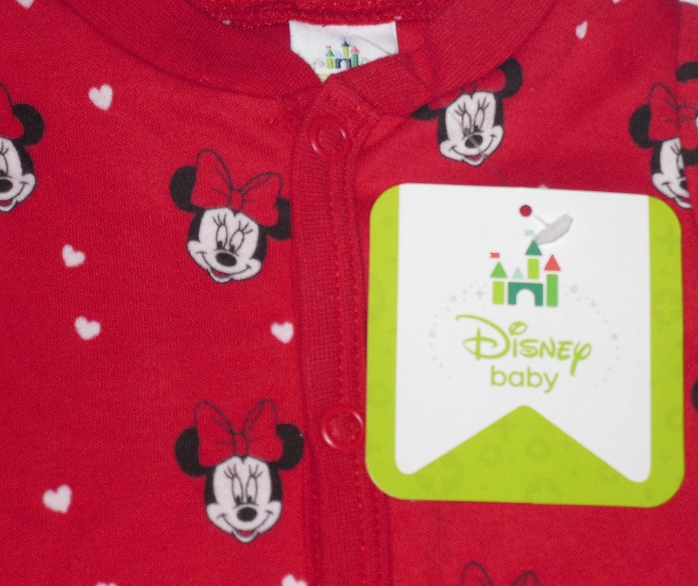 Disney Baby Girls Minnie Mouse Sweet Sleepsuit