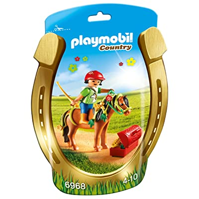 PLAYMOBIL Groomer with Bloom Pony: Toys & Games