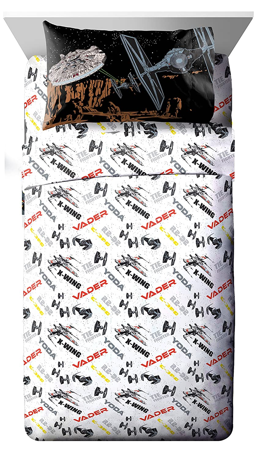 Star Wars Classic Death Star 62' x 90' Twin Blanket Jay Franco and Sons Inc JF28718