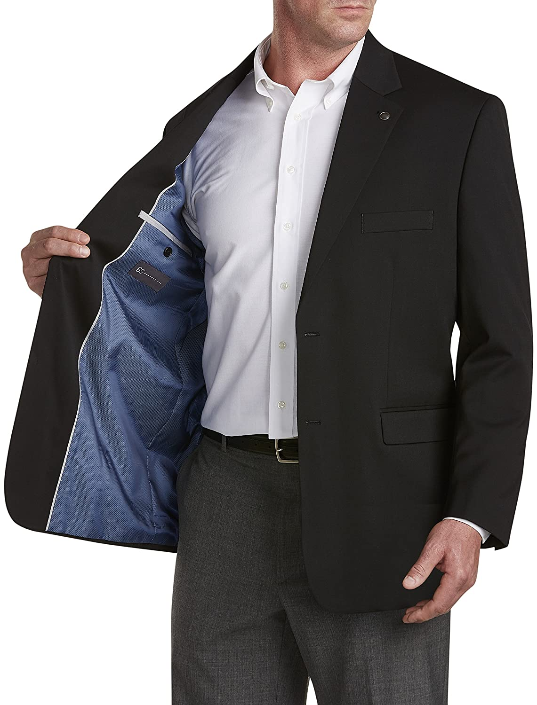 Regular Gold Series by DXL Big and Tall Jacket-Relaxer Blazer
