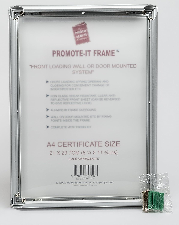 papfa4b-fba fördern ES A4 (21 x 30 cm) Poster Zertifikat Bild Snap ...