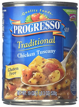 Amazon.com : Progresso Traditional Soup - Chicken Tuscany ...