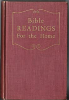 bible readings for the home 300 vital scripture topics in question