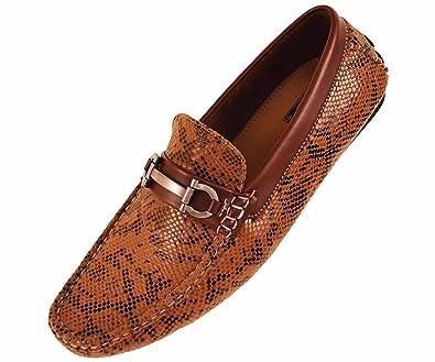 Amazon.com: Hormigón Mens conducción mocasines Zapato en ...