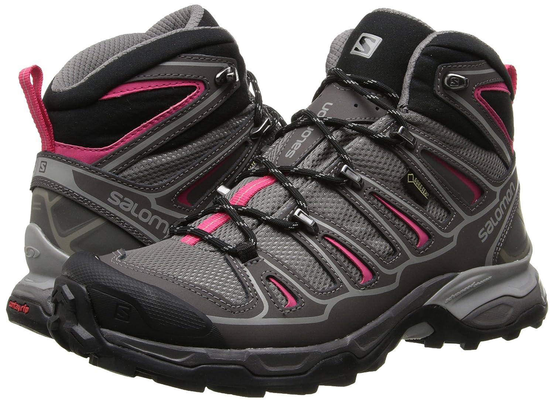 Salomon Women's X Ultra Mid 2 Gtx High Rise Hiking Boots - Stivaletto da trekking impermeabile, adatto alla natura selvaggia dei Paesi Nordici