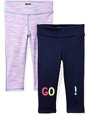 093399431a04f Amazon Brand - Spotted Zebra Girls' Toddler & Kids 2-Pack Active Capri  Legging