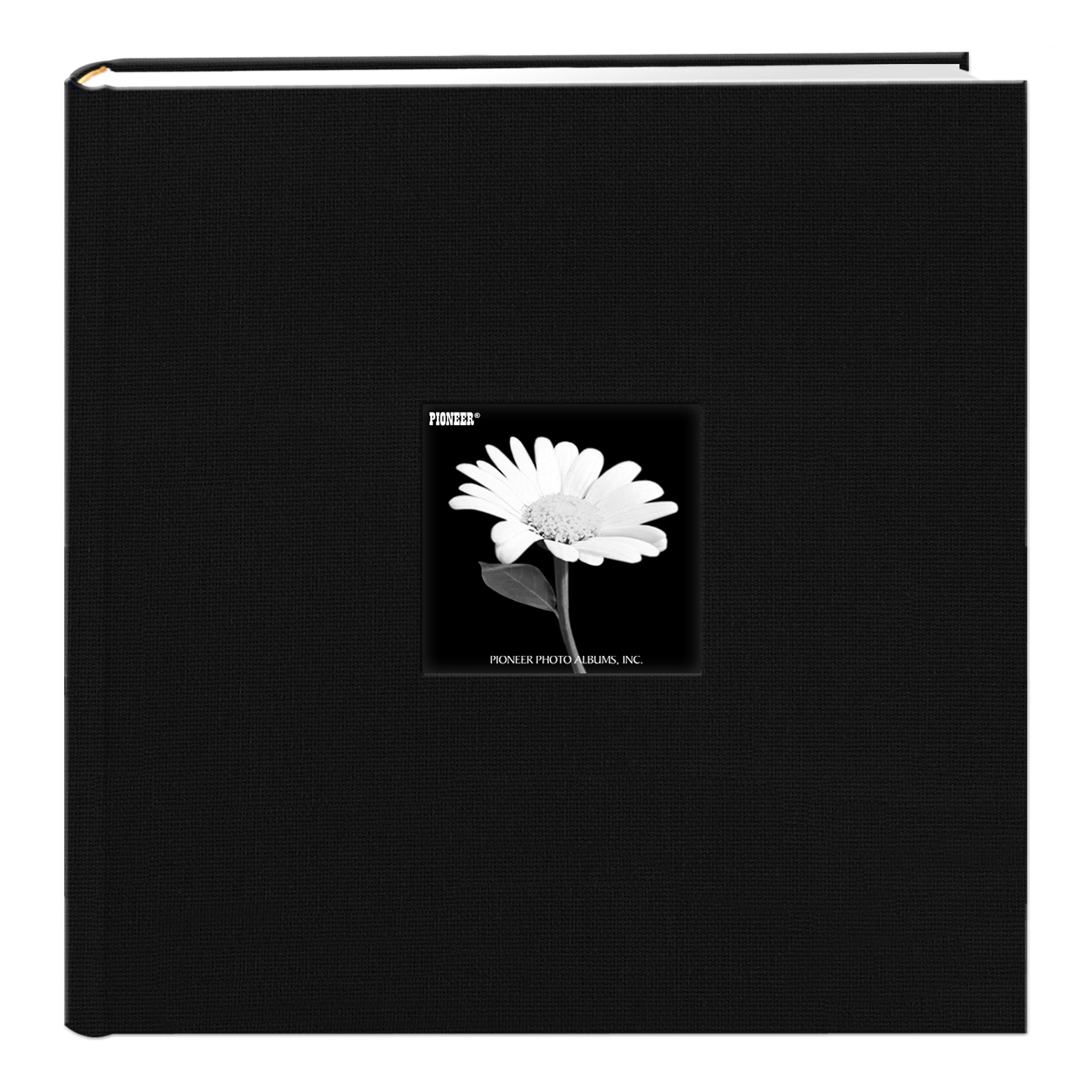 Pioneer Photo Albums DA-500CBF/BK Da-500Cbf Deep Photo Album, 4'' x 6'', Black by Pioneer Photo Albums
