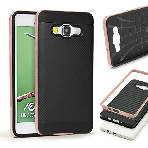 9 opinioni per URCOVER Custodia Protettiva Samsung Galaxy A5 2015 | Back Cover Rigida Carbon