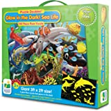 The Learning Journey Puzzle Doubles, Glow In The Dark, Sea Life