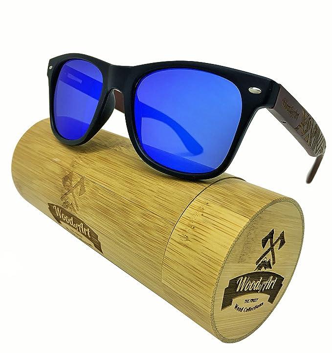 Amazon.com: WoodofArt - Gafas de sol polarizadas de madera ...