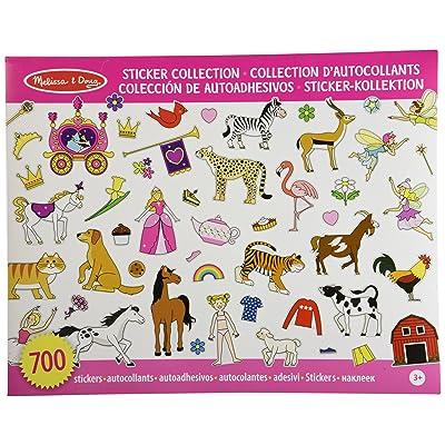 Melissa & Doug Sticker Collection - Color Rosa (10 páginas temáticas con más de 700 pegatinas): Juguetes y juegos