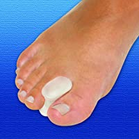 Silipos Antibacterial Gel Toe Spreaders | x2 | With Inbuild Odour Protection | Gently Aligns and Straightens Toes