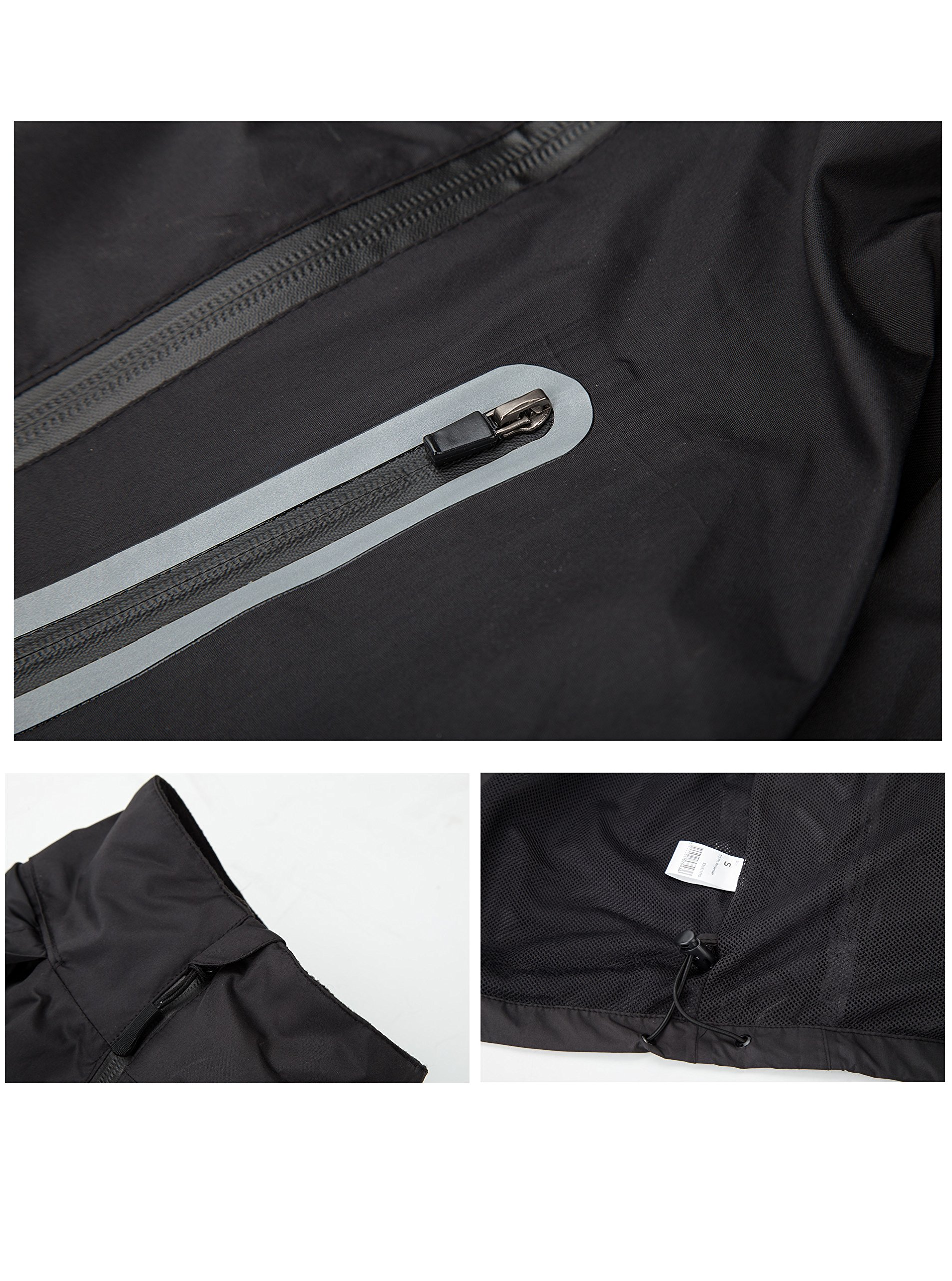 SWISSWELL Hooded Rain Suit for Kids Black Size 10 by SWISSWELL (Image #4)