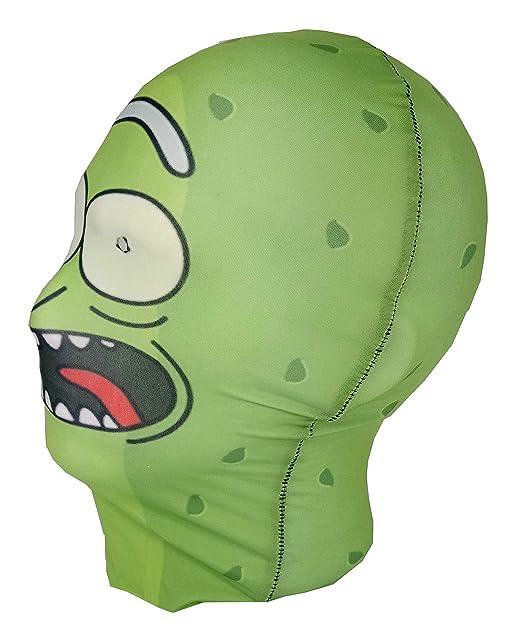 Máscara de cabeza competa para disfraz de Rickinillo, de la serie animada