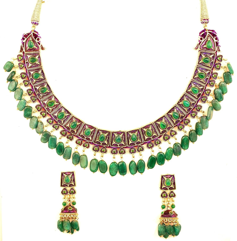 Touchstone Indian Bollywood Mughal Jaipur Meenakari Enamel