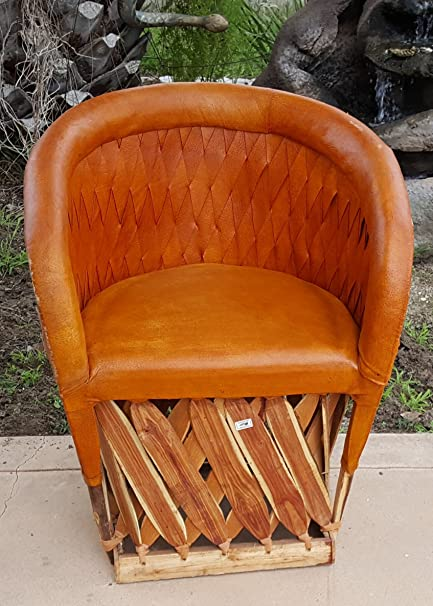 Weave Back Mexican Equipale Chair