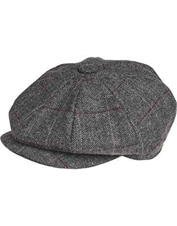 272e5ae7bb4 Peaky Blinders 8 Piece  Newsboy  Style Flat Cap -100% Wool Fabric Variations
