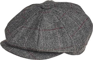 Gorra de Peaky Blinders, en 8 piezas, 100 % lana, de estilo chico ...