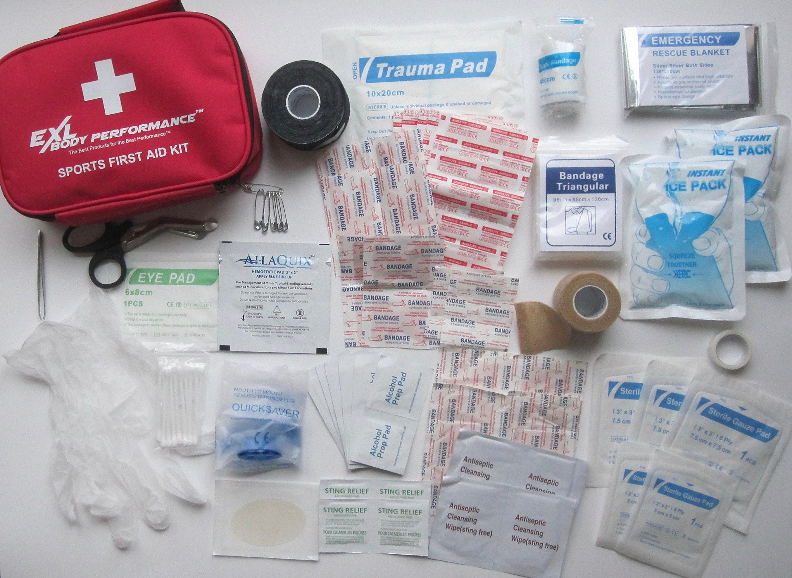 Youth Sports First Aid Kit (Deluxe)