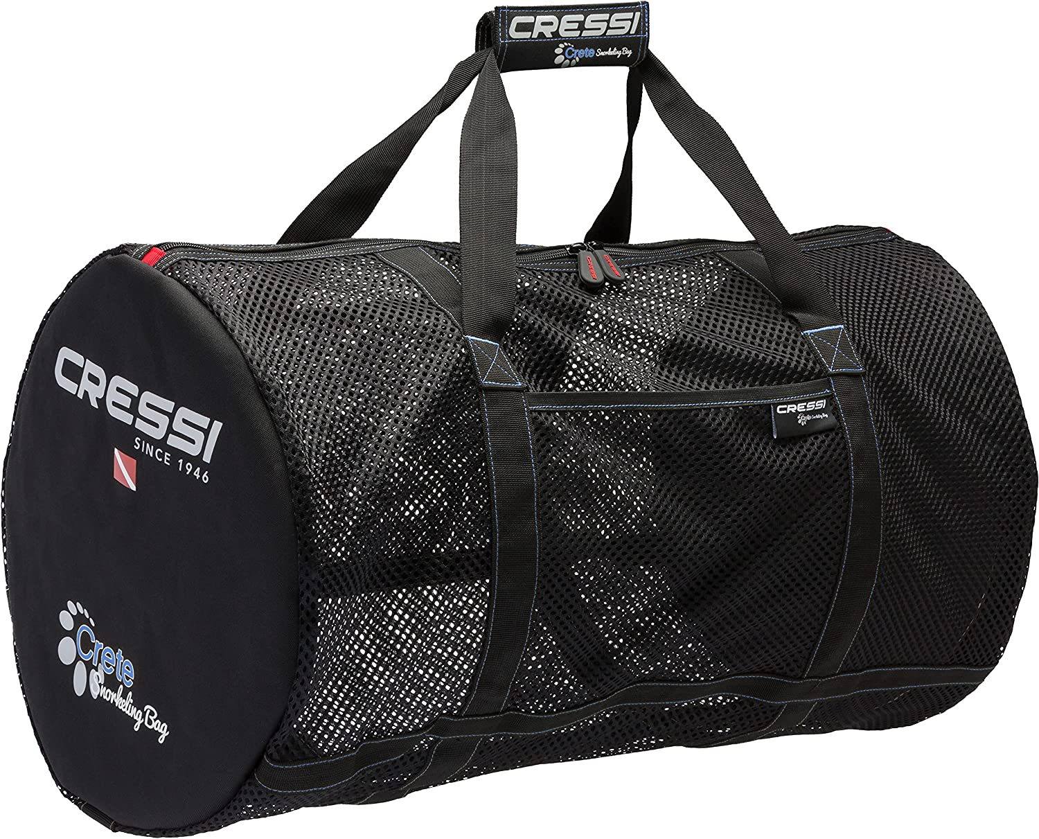 Cressi Strong Foldable Mesh Duffle for Diving Max 61% OFF Scuba Bag SALENEW very popular! Snorkel