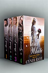 Sons of Nora White Series Mail Order Brides Boxed Set: Volumes 1-4
