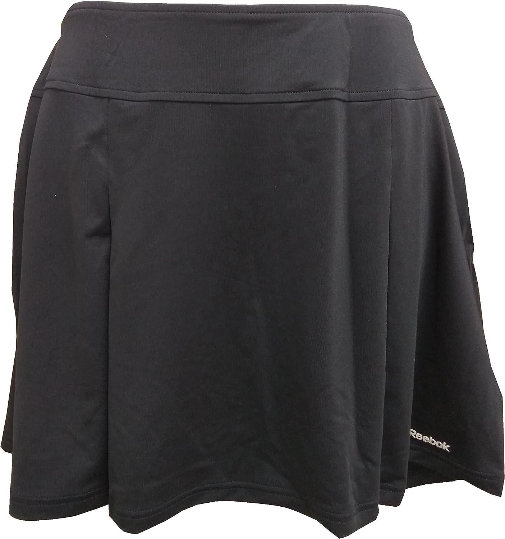 リーボックWomen 's Club Pletスカート(ブラック) – Large