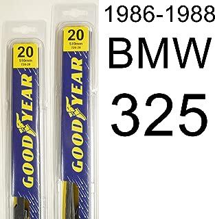 "product image for BMW 325 (1986-1988) Wiper Blade Kit - Set Includes 20"" (Driver Side), 20"" (Passenger Side) (2 Blades Total)"