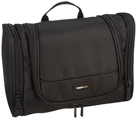 268f099977 Amazon.com  AmazonBasics Hanging Toiletry Kit