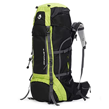 Husky Travelpax Adventure 70L Hiking   Adventure Travel Backpack for Men    Women  Amazon.in  Bags, Wallets   Luggage 568ae58170