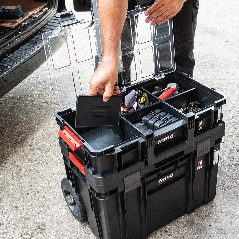 Trend Modular Storage Compact Cart Set 3pc,MS//C//SET3C